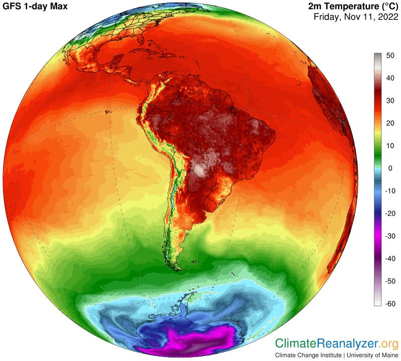 Previsioni Meteo America Meridionale