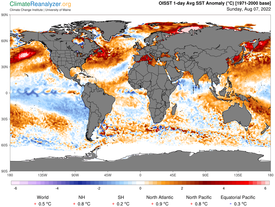Sea Surface Temperature Anomalie