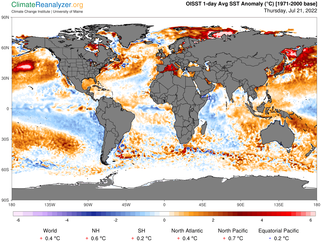 Global Meteo Overview Maps